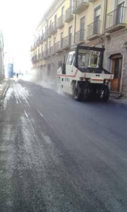Asfaltado de calles en Herencia 1
