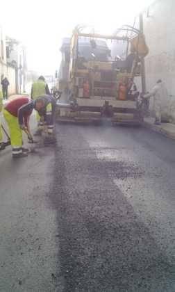 Asfaltado de calles en Herencia 2