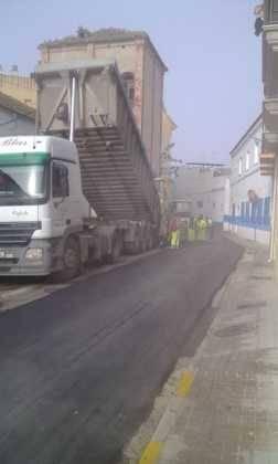 Asfaltado de calles en Herencia 3