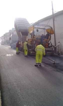 Asfaltado de calles en Herencia 5