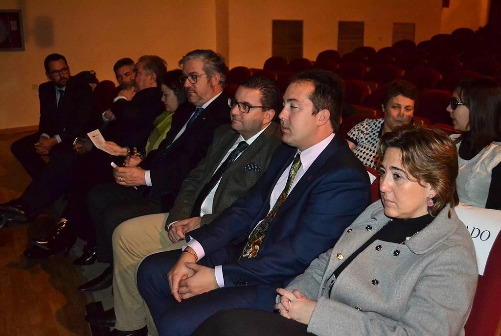 autoridades y representantes de empresas - Empresas herecianas presentes en la II Gala del Cine Inclusivo en Alcázar de San Juan