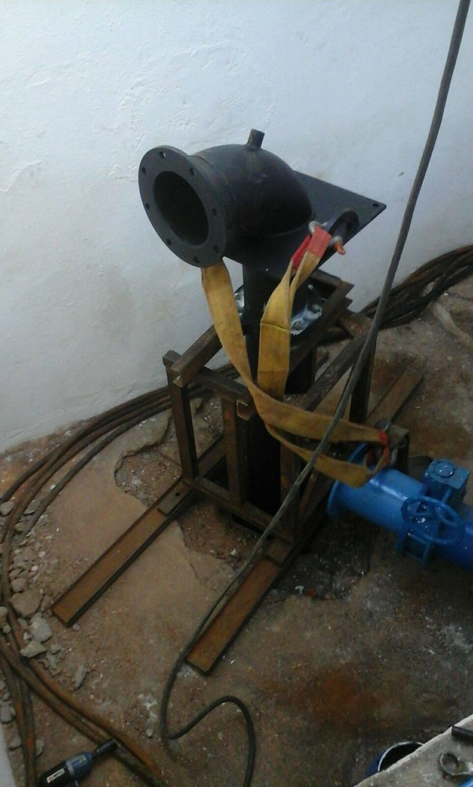 bomba de captacion de palancas en Herencia - Instalación de segunda bomba de agua para garantizar suministro local