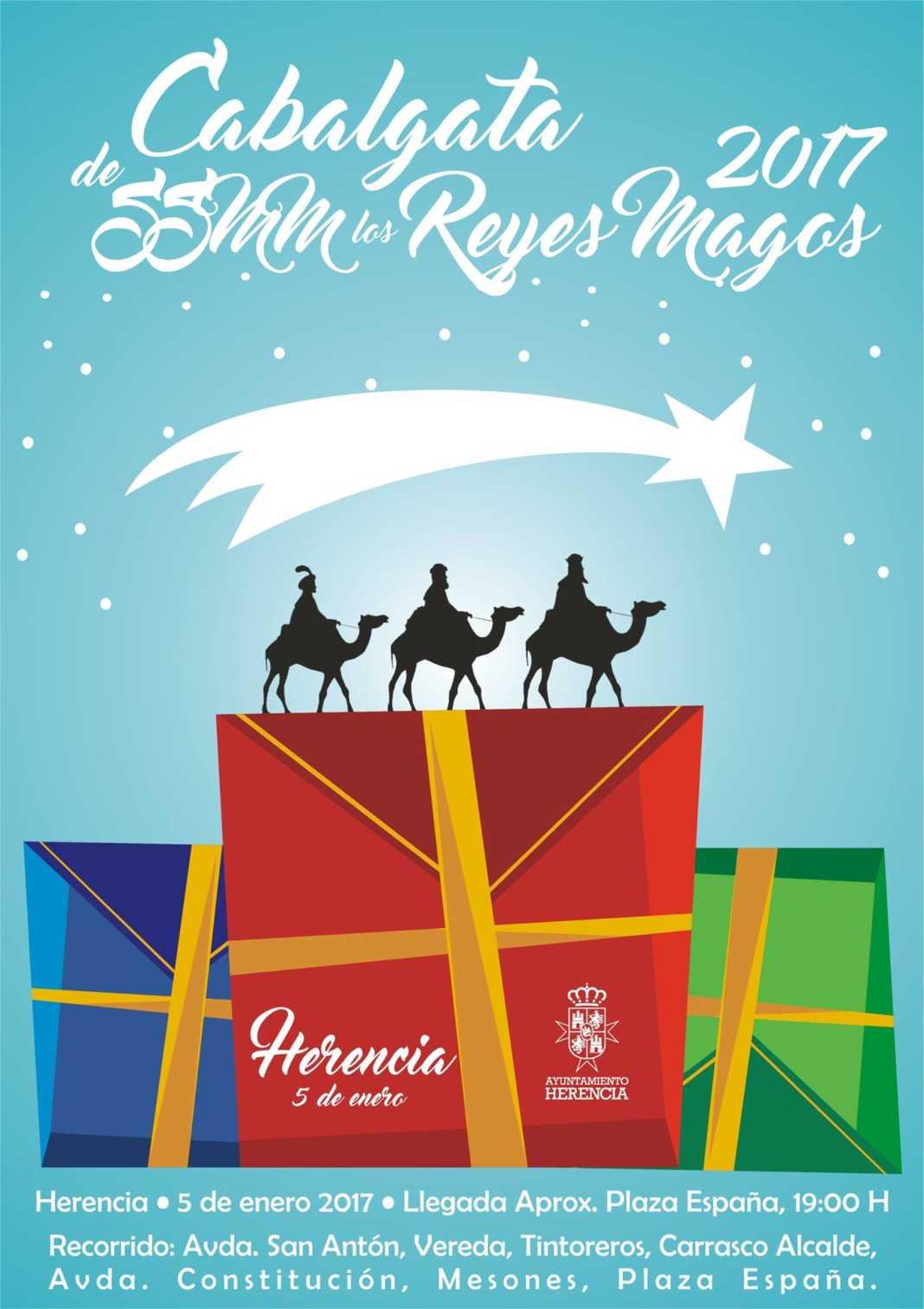 Cabalgata de SSMM los Reyes Magos de Oriente llegará a Herencia 1