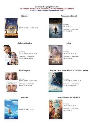 cartelera cinemancha del 30 de diciembre al 05 de enero 329x465 - Cartelera Cinemancha, del 30 de diciembre al 05 de enero