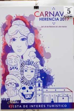 Elige el cartel de Carnaval de Herencia 2017 que más te gusta... 1