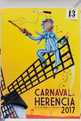 carteles de carnaval de herencia 2017 votacion popular 10 280x420 - Elige el cartel de Carnaval de Herencia 2017 que más te gusta...
