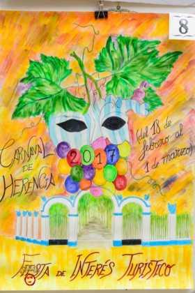 Elige el cartel de Carnaval de Herencia 2017 que más te gusta... 4