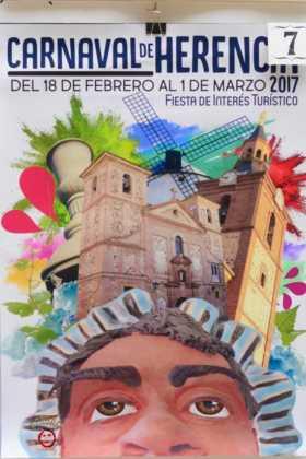 Elige el cartel de Carnaval de Herencia 2017 que más te gusta... 8