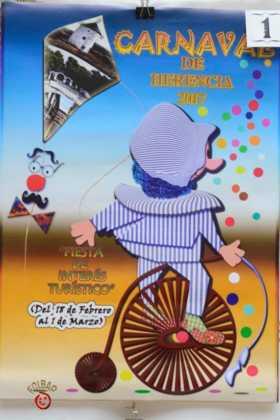 carteles de carnaval de herencia 2017 votacion popular 9 280x420 - Elige el cartel de Carnaval de Herencia 2017 que más te gusta...