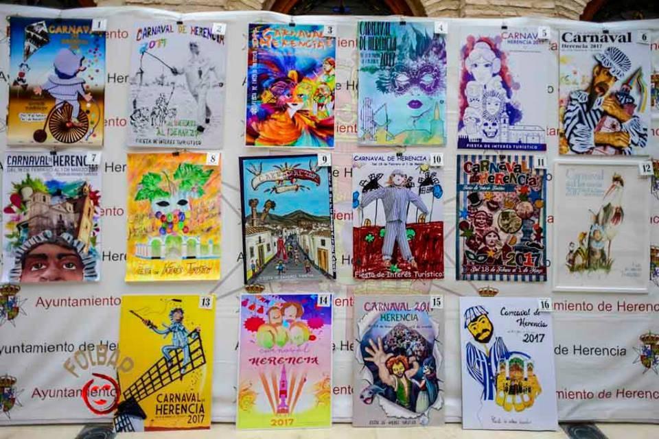 Elige el cartel de Carnaval de Herencia 2017 que más te gusta... 17