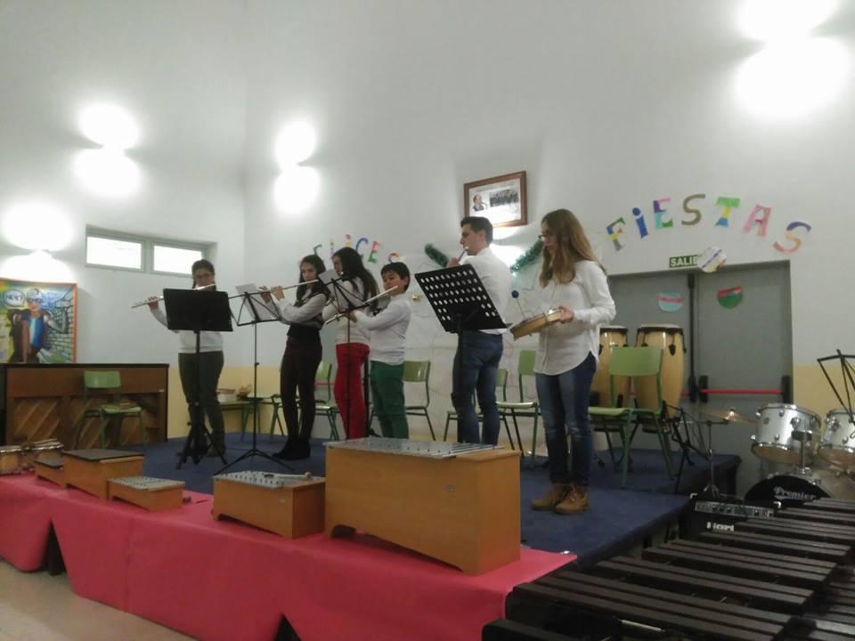 concierto navidad de escuela de musica herencia - Concierto de Villancicos Españoles el 16 de diciembre
