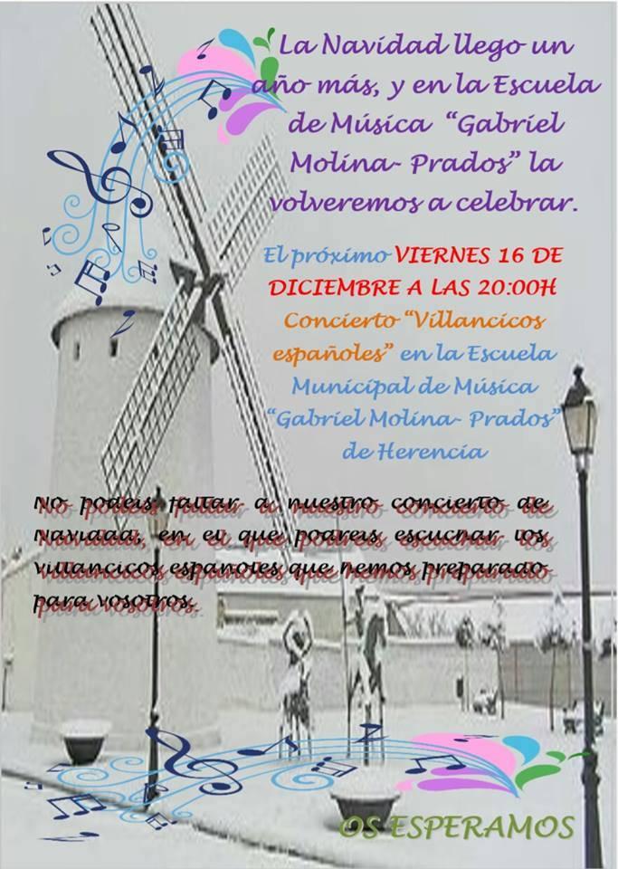 concierto villancicos - Concierto de Villancicos Españoles el 16 de diciembre