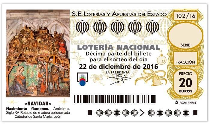 decimo de loteria de navidad 2016 - El 04536, agraciado con el segundo premio, se reparte en Herencia y Alcázar de San Juan