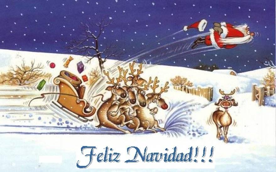 Felicitaciones de Navidad graciosas para enviar por WhatsApp 1