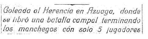 goleada del herencia - El Herencia C. F. (III) (de la tercera división)