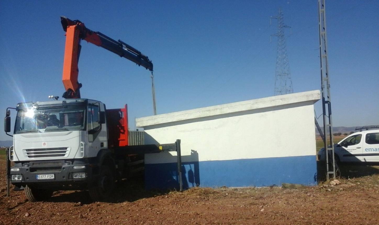 instalacion de bomba de captacion de palancas herencia - Instalación de segunda bomba de agua para garantizar suministro local