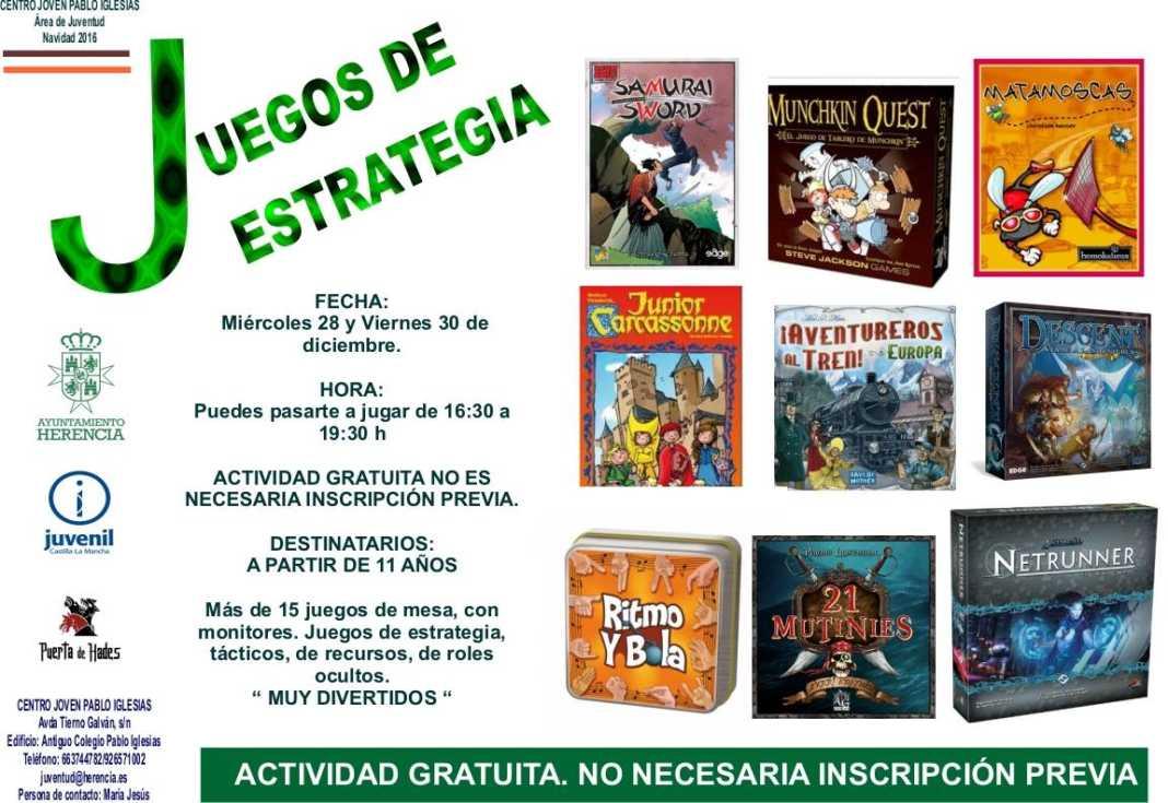 Juegos de estrategia en Herencia 1