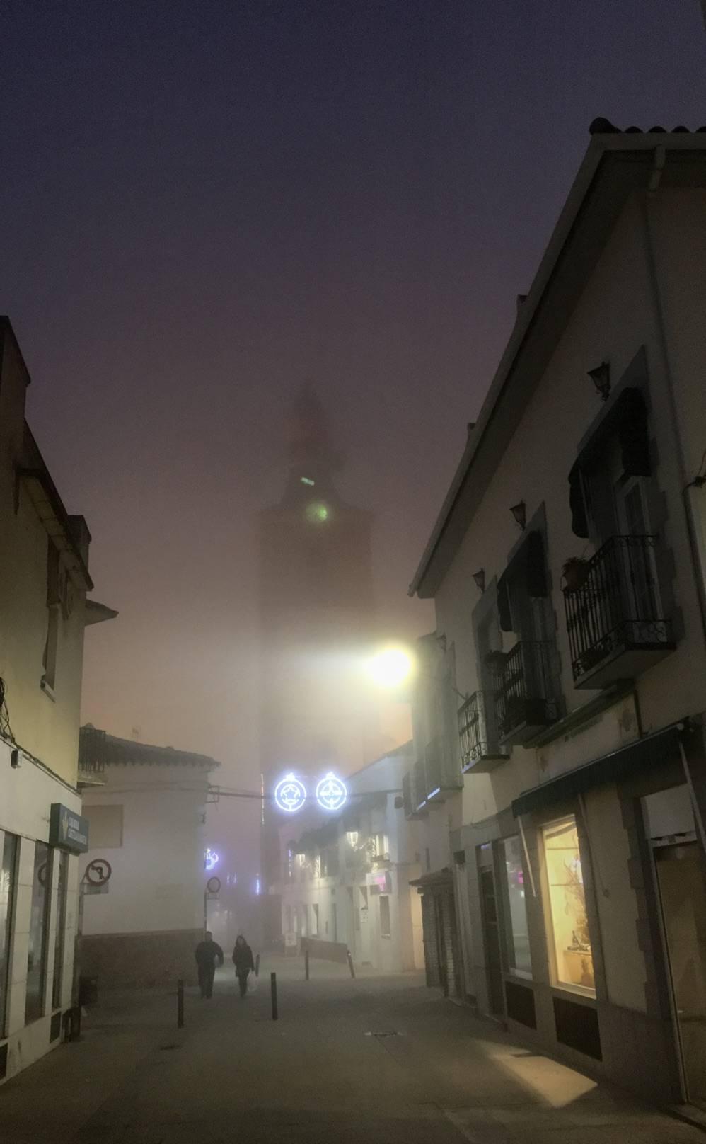 Niebla en Herencia (Ciudad Real)