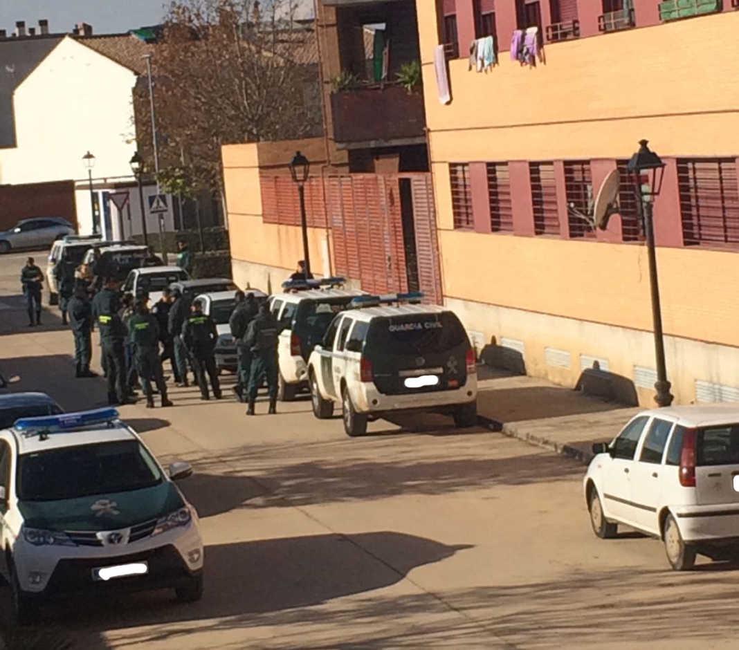 redada guardia civil en herencia 1068x940 - Importante operación antidroga en Herencia