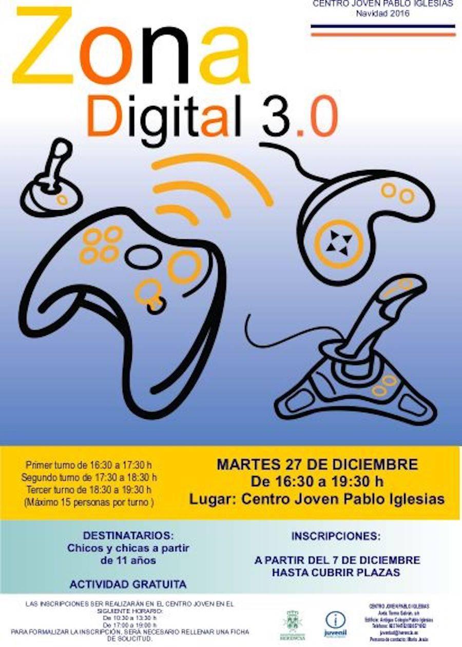 Zona Digital 3.0 de juegos en Herencia 1