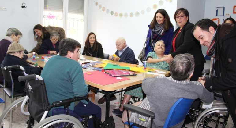 La Delegada de la Junta visita Herencia y hace un balance del Área de Bienestar social 1