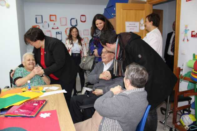 La Delegada de la Junta visita Herencia y hace un balance del Área de Bienestar social 2