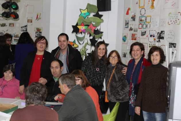 La Delegada de la Junta visita Herencia y hace un balance del Área de Bienestar social 6