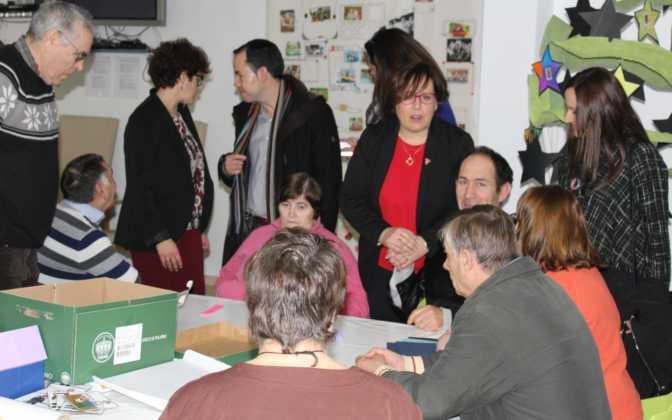 La Delegada de la Junta visita Herencia y hace un balance del Área de Bienestar social 7