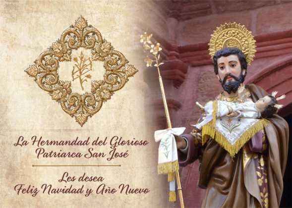 Coro de la azucena de san jose cantnado villancicos05 589x420 - Ruta de villancicos de la hermandad de San José y el grupo de coros y danzas infantil