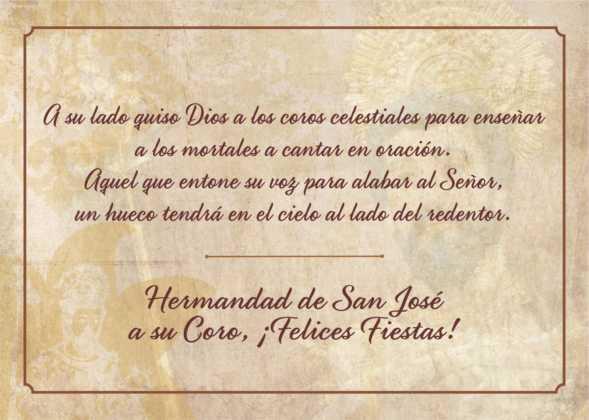 Coro de la azucena de san jose cantnado villancicos15 589x420 - Ruta de villancicos de la hermandad de San José y el grupo de coros y danzas infantil