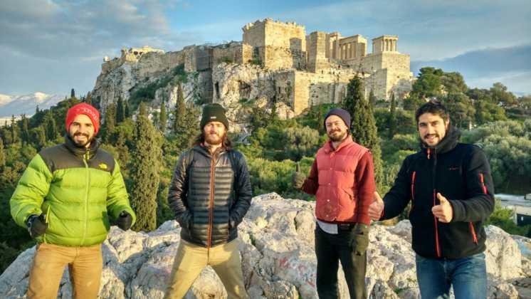 Perlé por el Mundo termina el año en Atenas 3