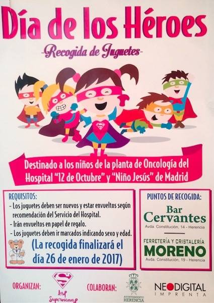 Campaña de recogida de juguetes para niños con cáncer 1