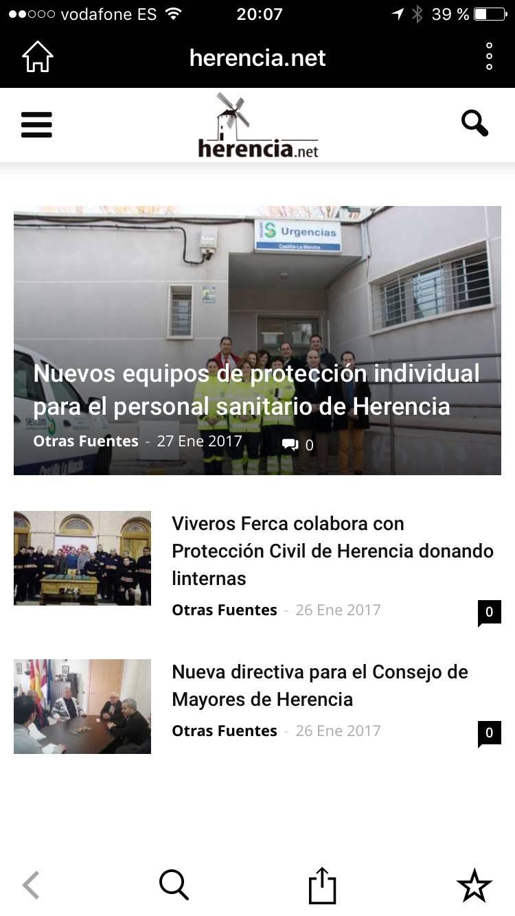 aplicacion movil herencia captura - Descarga la aplicación móvil de Herencia.net