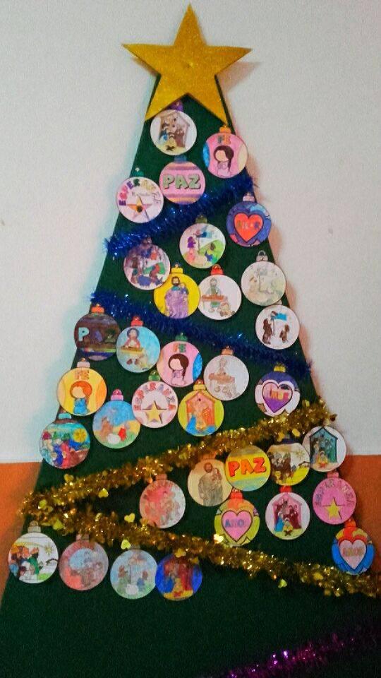 arbol de navidad infantil de san Jose - Ruta de villancicos de la hermandad de San José y el grupo de coros y danzas infantil