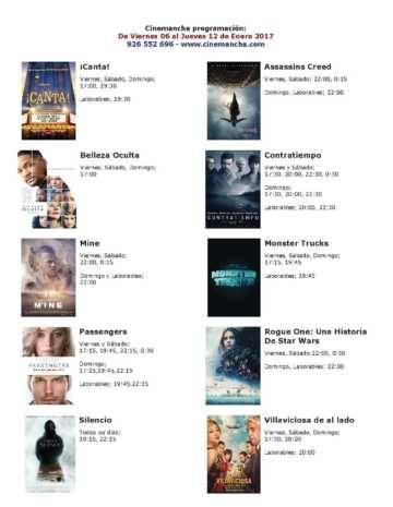 cartelera de cinemancha del 06 al 12 de enero 360x465 - Cartelera Cinemancha del viernes 06 al jueves 12 de enero