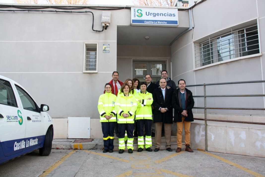 Nuevos equipos de protección individual para el personal sanitario de Herencia 1