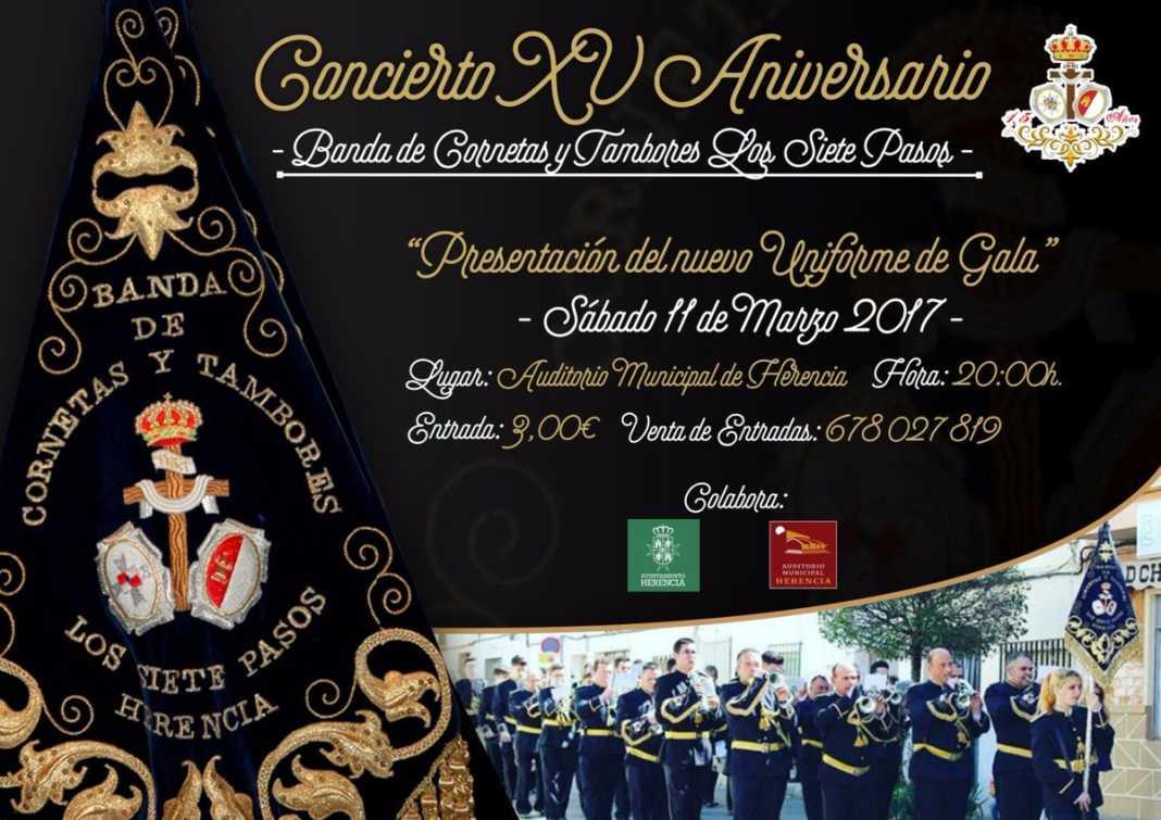 Concierto XV Aniversario de la Banda Los Siete Pasos 1