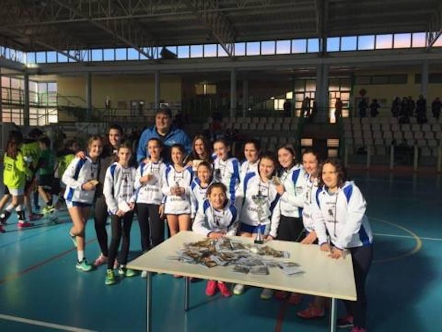 equipo handball team de herencia - Herencia estuvo presente en el IV Clínic Olímpico AJBM