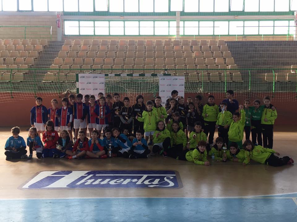 equipos clinic balonmano malagon - Herencia estuvo presente en el IV Clínic Olímpico AJBM
