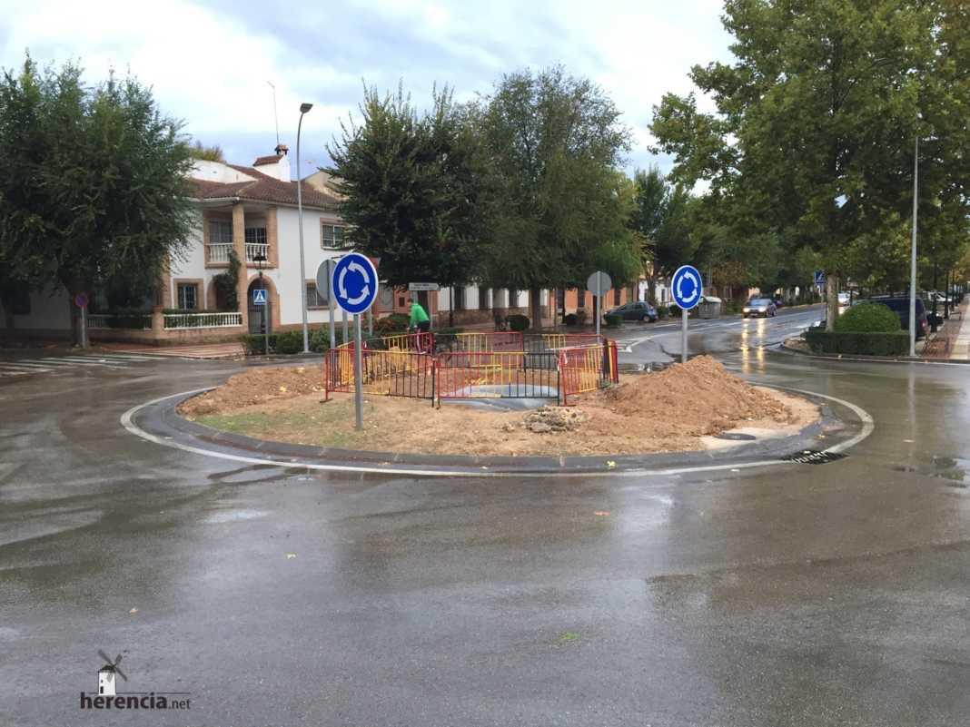 Herencia instalará una escultura de un Perlé en la rotonda de la Avda. Alcázar 1
