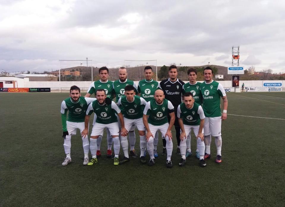 herencia club futbol en partido contra almaden