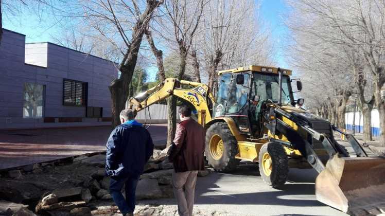 obras municipales en calles de herencia 3 748x420 - La movilidad y accesibilidad marcan la prioridad en las nuevas obras municipales