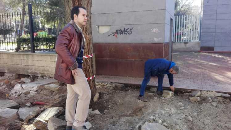 obras municipales en calles de herencia 4 748x420 - La movilidad y accesibilidad marcan la prioridad en las nuevas obras municipales