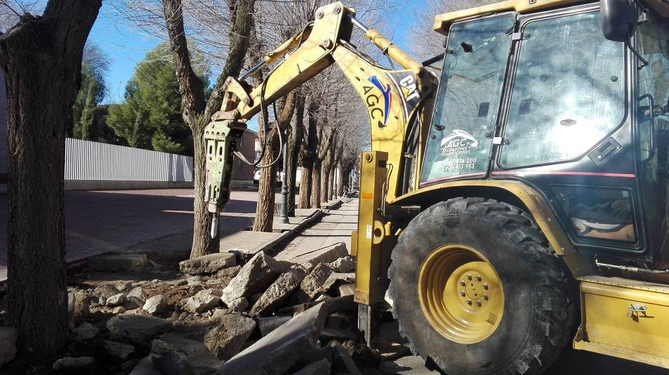 obras municipales en calles de herencia 5 - La movilidad y accesibilidad marcan la prioridad en las nuevas obras municipales