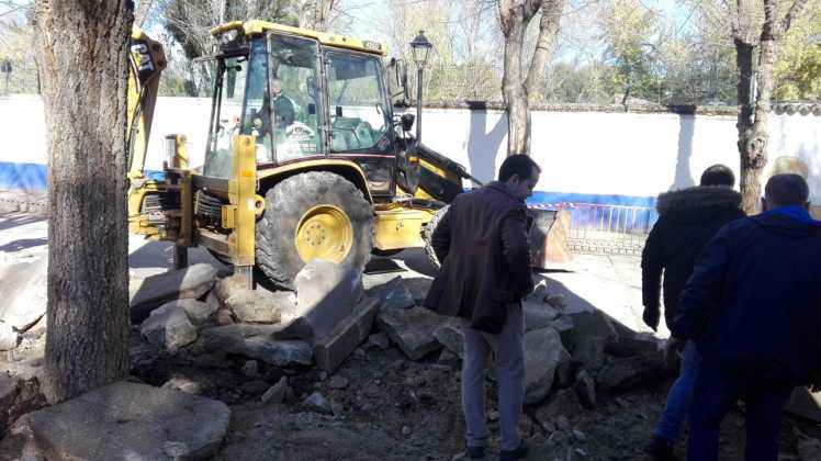 obras municipales en calles de herencia 6 748x420 - La movilidad y accesibilidad marcan la prioridad en las nuevas obras municipales
