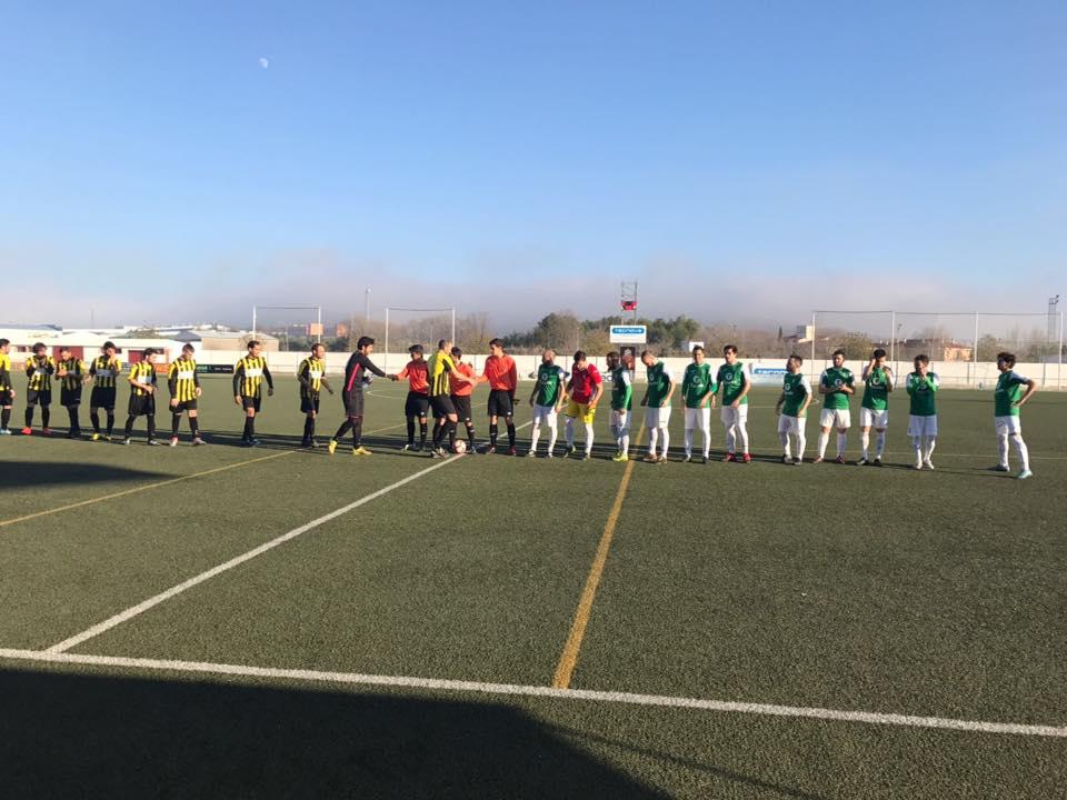 partido herencia yebenes - Victoria 3-2 para comenzar el año con buen pie