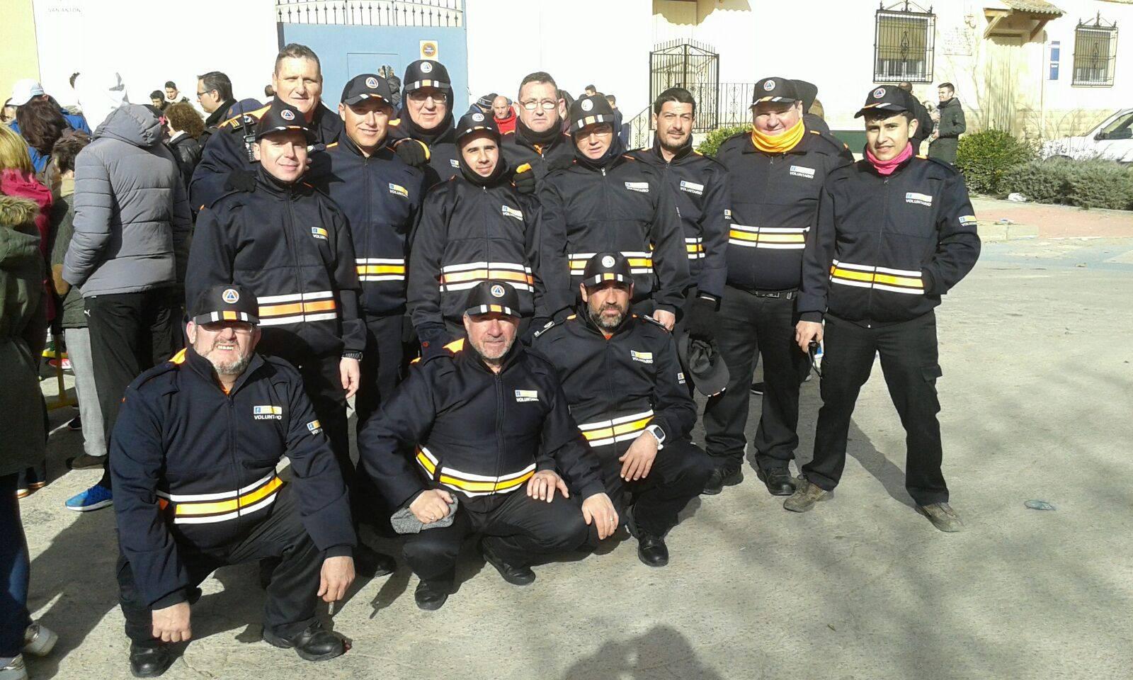 proteccion civil en carrera popular san anton 2017
