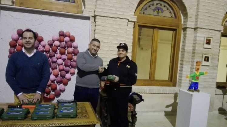 Viveros Ferca colabora con Protección Civil de Herencia donando linternas 16