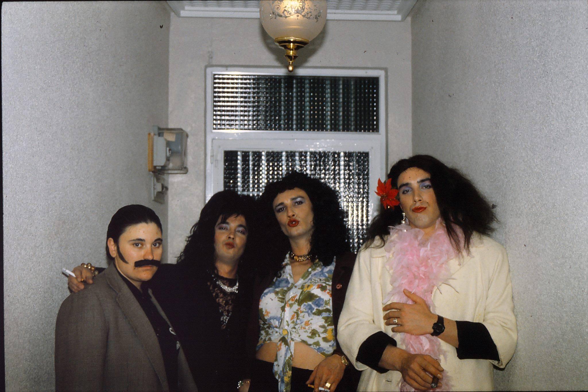 1992 carnaval chefi varguillas miguel angel luis carlos - Seguimos con la historia del Carnaval de Herencia a través de imágenes