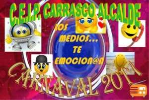 Desfile escolar en Carnaval de Herencia. CEIP CARRASCO ALCALDE 1